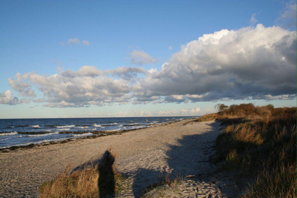 Der Strand hinter dem geplanten Baugebiet 2